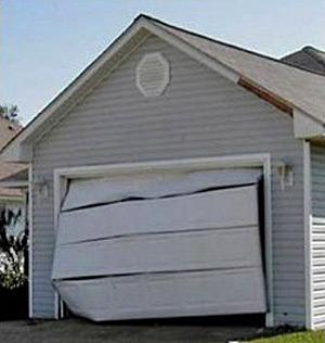 What exactly does it mean to be hurricane rated for Garage door wind code ratings